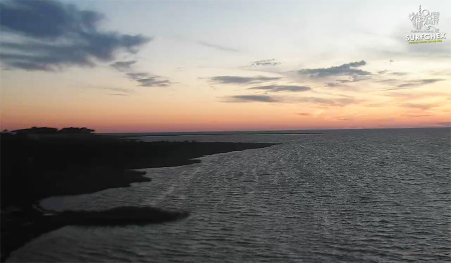 Watch the Live OBX Sunset From Waves | OBX Connection