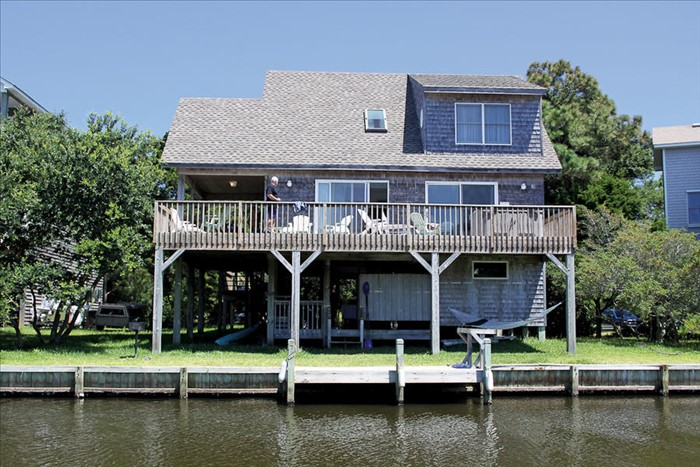 Heron 39 s haven frisco vacation rental obx connection for Hatteras cabins rentals